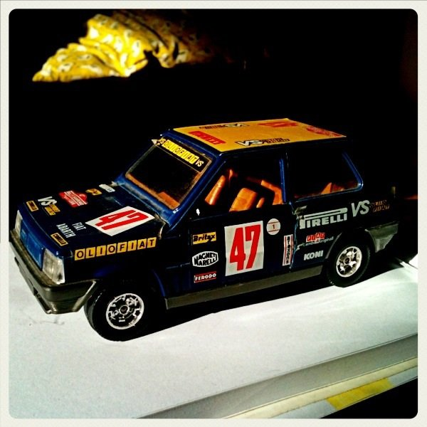 Collection Miniature, Fiat panda 45 abarth Burago