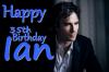 Happy Birthday Ian ! ♥