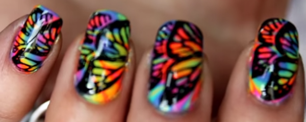 Que pensez-vous de ce nail art ?