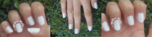 Nail art papillon. :)