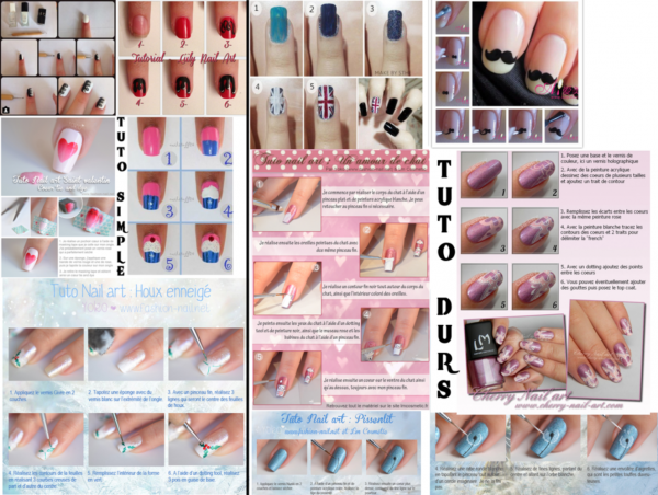 10 tutos nail du plus simple au plus dur