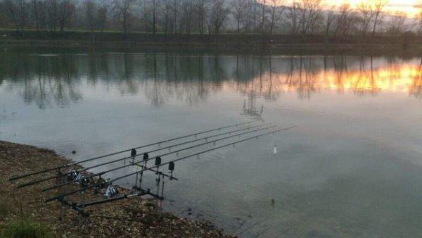 Petite pêche entre amis