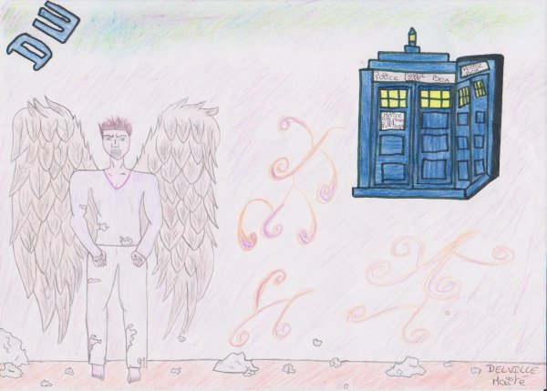 Dessin pour le concours Doctor who organiser par France 4