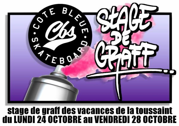 STAGE DE GRAFF CBS  (Octobre 2011)