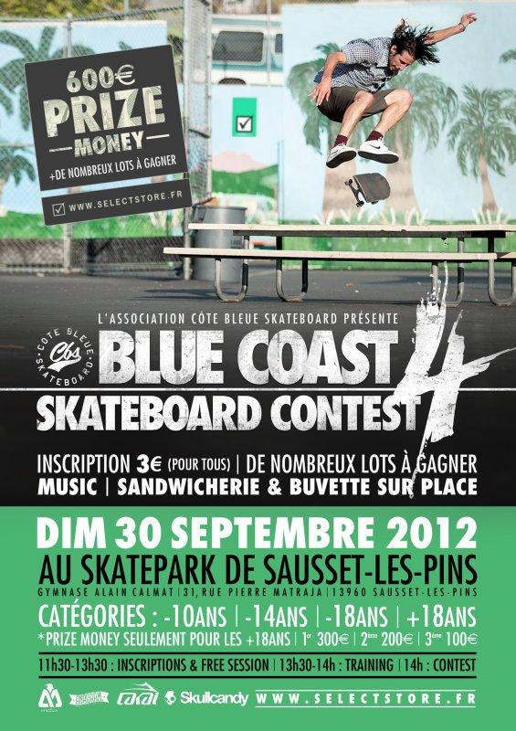 BLUE COAST SKATEBOARD CONTEST 4