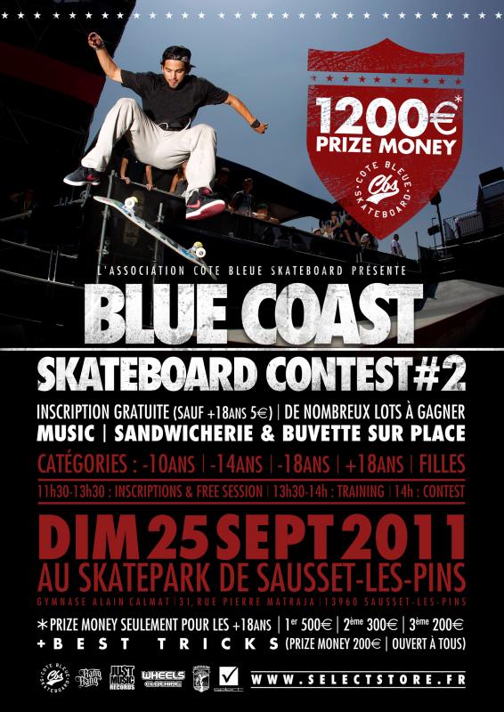 BLUECOAST SKATEBOARD CONTEST 2