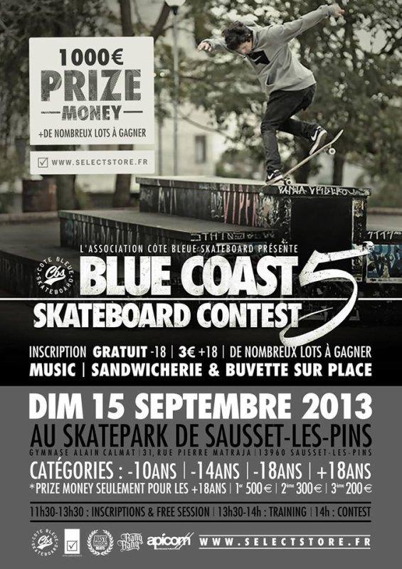 BLUE COAST SKATEBOARD CONTEST 5