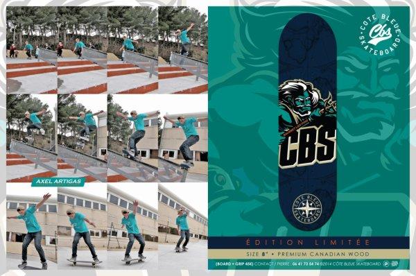 """BOARD CBS 45 ¤   -  Size  8""""  -"""