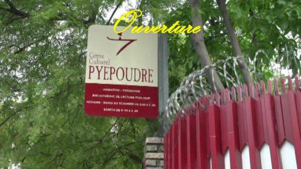 """Le nouveau Centre culturel Pyepoudre """"Kay pyepoudre"""""""