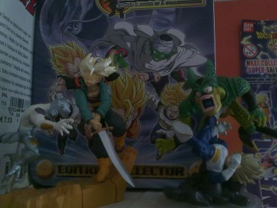 Figurine n°2 : Trunks vs Freezer & Vegeta vs Cell