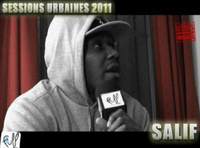 Sessions Urbaines 2011 : Salif
