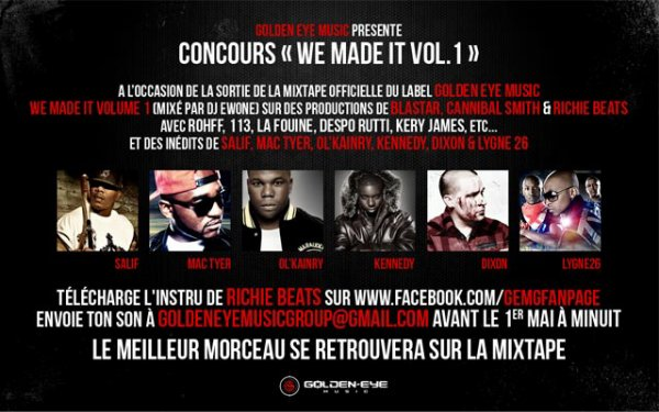 Goldeneye Music présente We Made It Volume 1