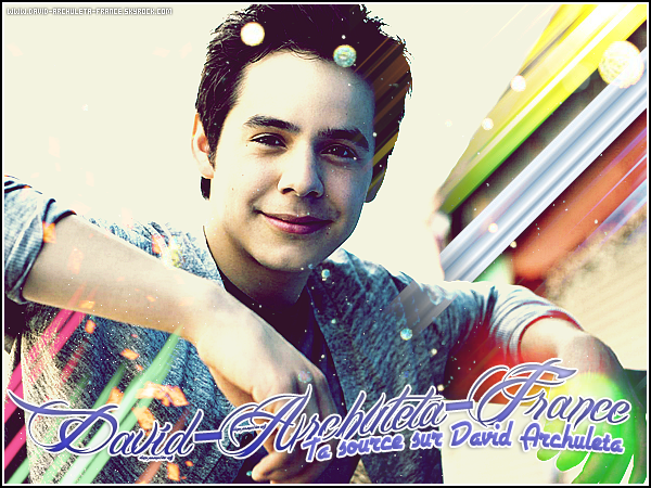 Bienvenue sur David-Archuleta-France, ta source d'actu sur David James Archuleta !