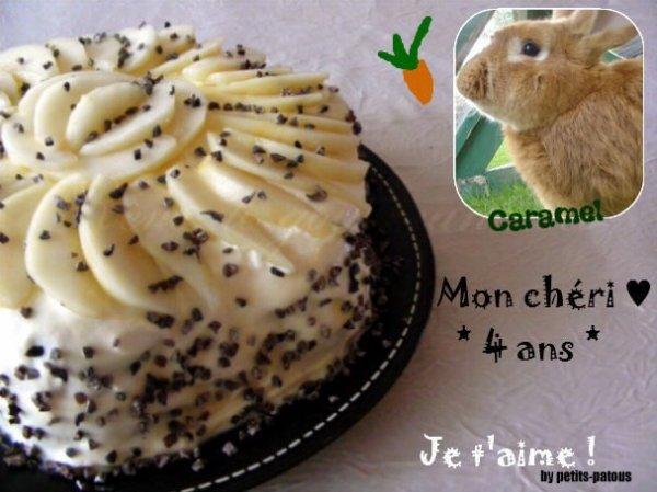 Des news ! Caramel a 4 ans ♥