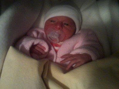 ma fille LOLA....(née le 11 janvier 2011 a 19h50)