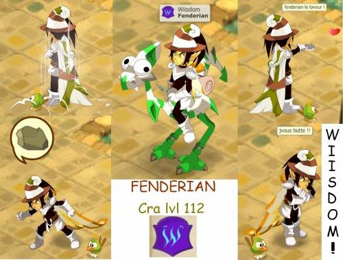 fenderian, cra lvl 112