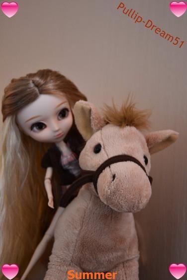 Summer à l'équitation  ♥