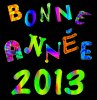 BONNE ANNEE 2013 !!!!!!