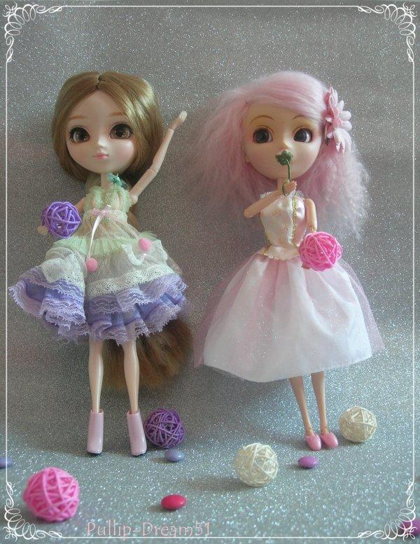 Summer and Pinku au bal de fin d'année