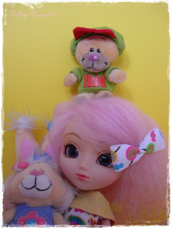 Pinkunette et ses amis