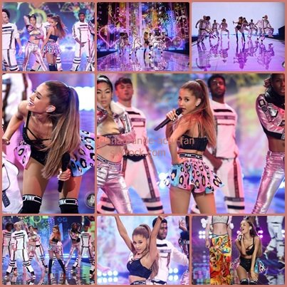 Ce 2 Décembre, Ariana a performée au Victoria Secret's Fashion Show à Londres.