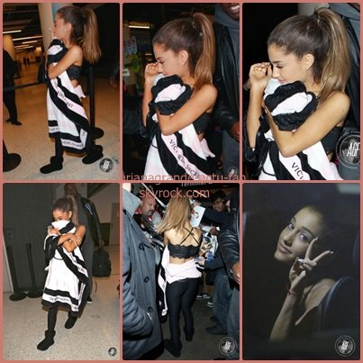 Ce 3 Déembre ,Ariana est de retour à Los Angeles, elle a été aperçue à l'aéroport LAX visiblement très fatiguée.