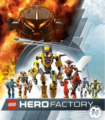 presentation des Hero Factory 2.0