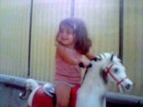 Moi à l'âge de 2 ans