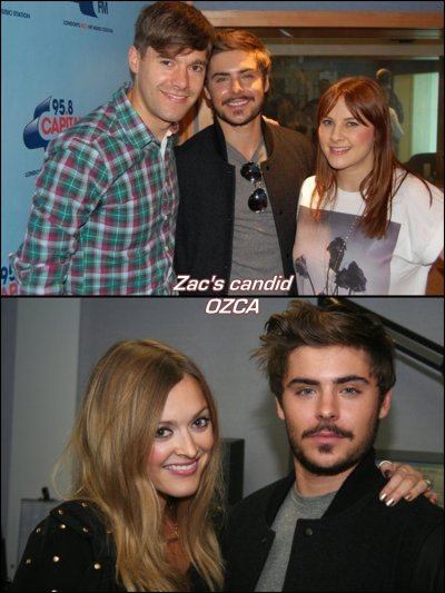Zac at BBC Radio1 !