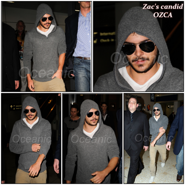 Zachary, September 18th: Arriving to Kingsford Smith Sydney Airport !