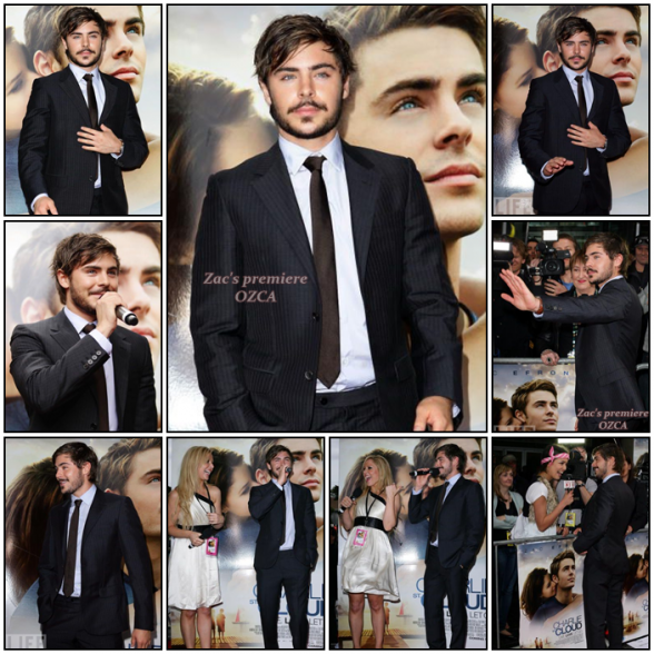 Zachary, September 19th: Charlie Saint Cloud's Premiere in Sydney !
