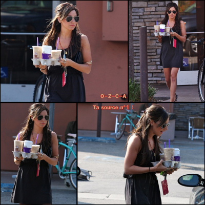 Vanessa, October 12th: Buying a printer in Santa Monica with a friend !