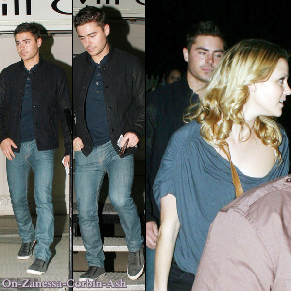Zac Efron leaving a concert & Attending the Lakers Vs Celtics game !