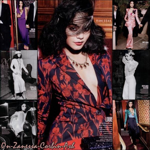 Vanessa Hudgens - Details Photoshoot & Instyle Scans !