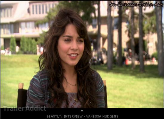Vanessa - February 24, 2011 EXCLUS : Interview de Vanessa pour Beastly + Nouvel extrait du film + Vidéo Behind-The-Scenes avec de nouveaux extraits !