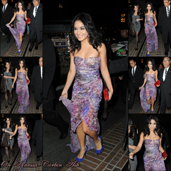 Vanessa - February 24, 2011 Premiere of Beastly in LA !