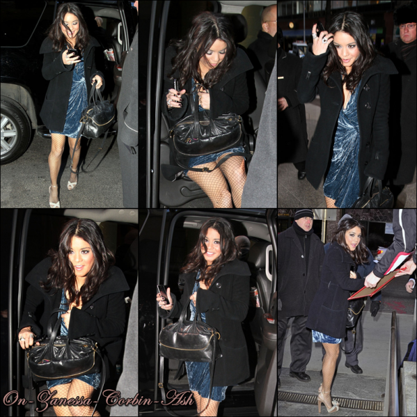Vanessa - March 03, 2011  Promoting Beastly and Having fun in NYC !