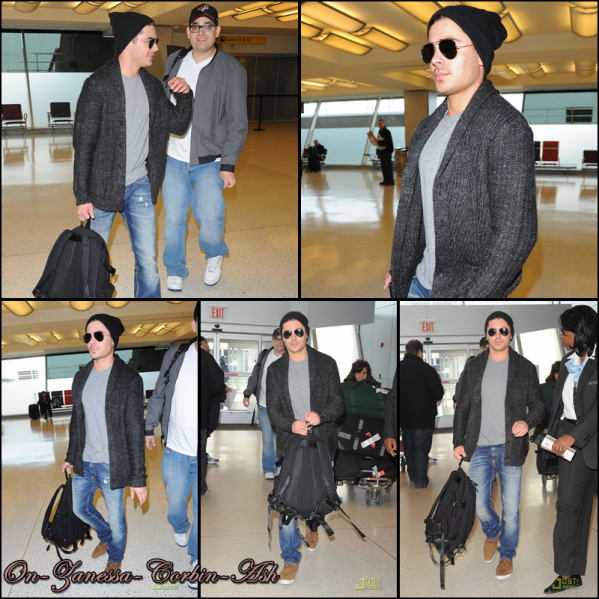 Zac - March 05, 2011  Taking a flight at JFK Airport !