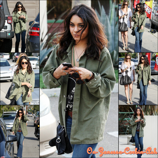 Vanessa - March 17, 2011  Out and About in Los Angeles !