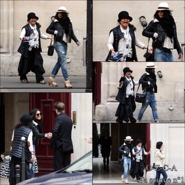 Vanessa in Paris !