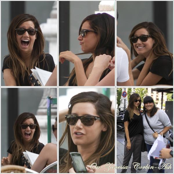 Ashley in Spain