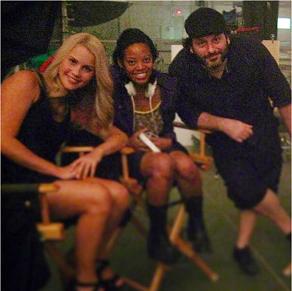 Claire a posté une photo datant du set du 2x01 de The Originals ce 6 octobre 2014.