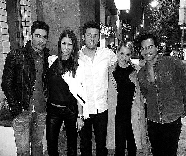 Claire a fêté l'anniversaire de Stacey avec Matt, Nick et un autre ami ce 20 février 2015.