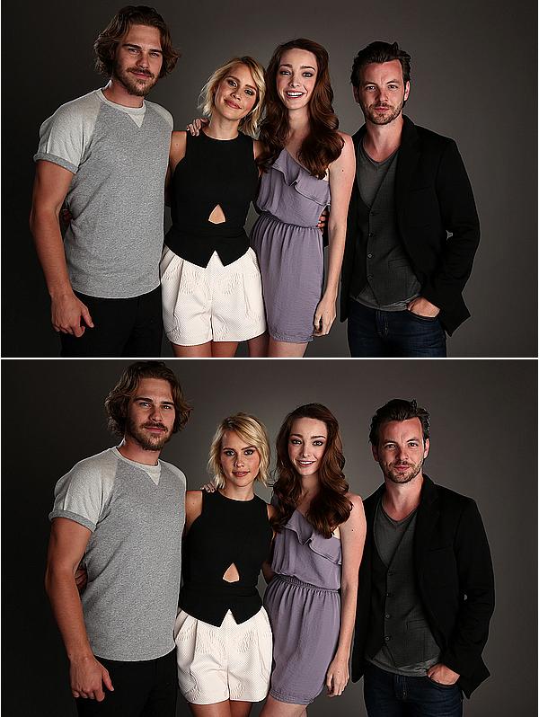 02/04/15 - Claire était à l'évènement « NBC Universal Summer Press Day », avec le cast d'Aquarius.  Claire et le cast ont présenté leur nouvelle série lors de l'évènement dédié aux séries de la NBC. Claire est vraiment sublime.
