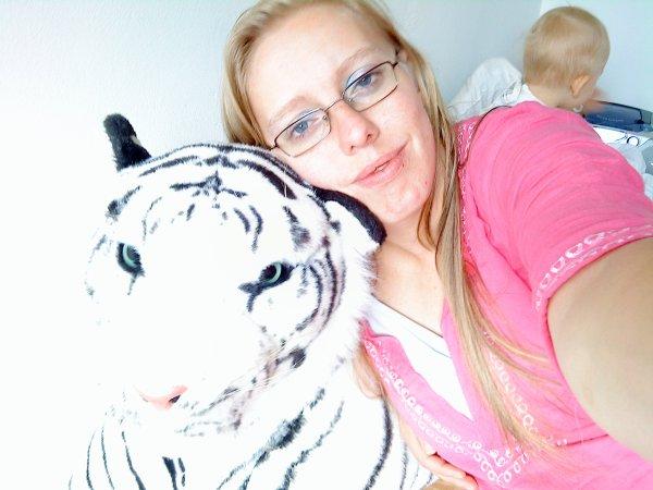 moi avec mon tigre