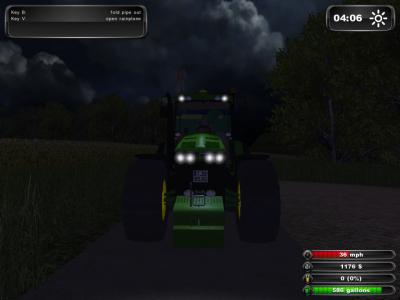 Moisson dans Landwirscahft Simulator 2011