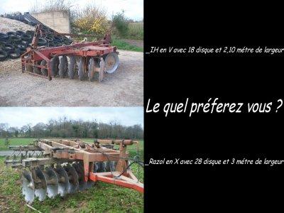Le quel préferez vous entre notre cover-crop IH et le cover-crop Razol De l'ETA Touzé de plouvara ???