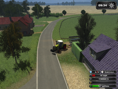 Ensemble de déchaumage dans Landwirschaft Simulator 2011 :)