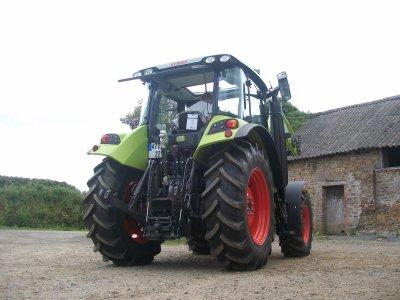 Nouveaux tracteur chez mon Tonton !!!