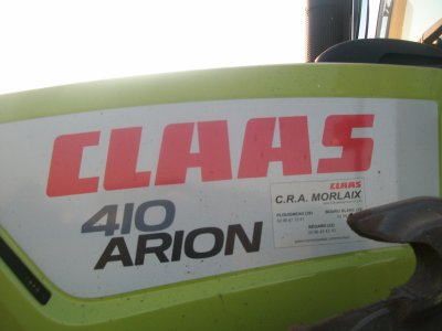 Claas Arion 410 à l'ensilage :)